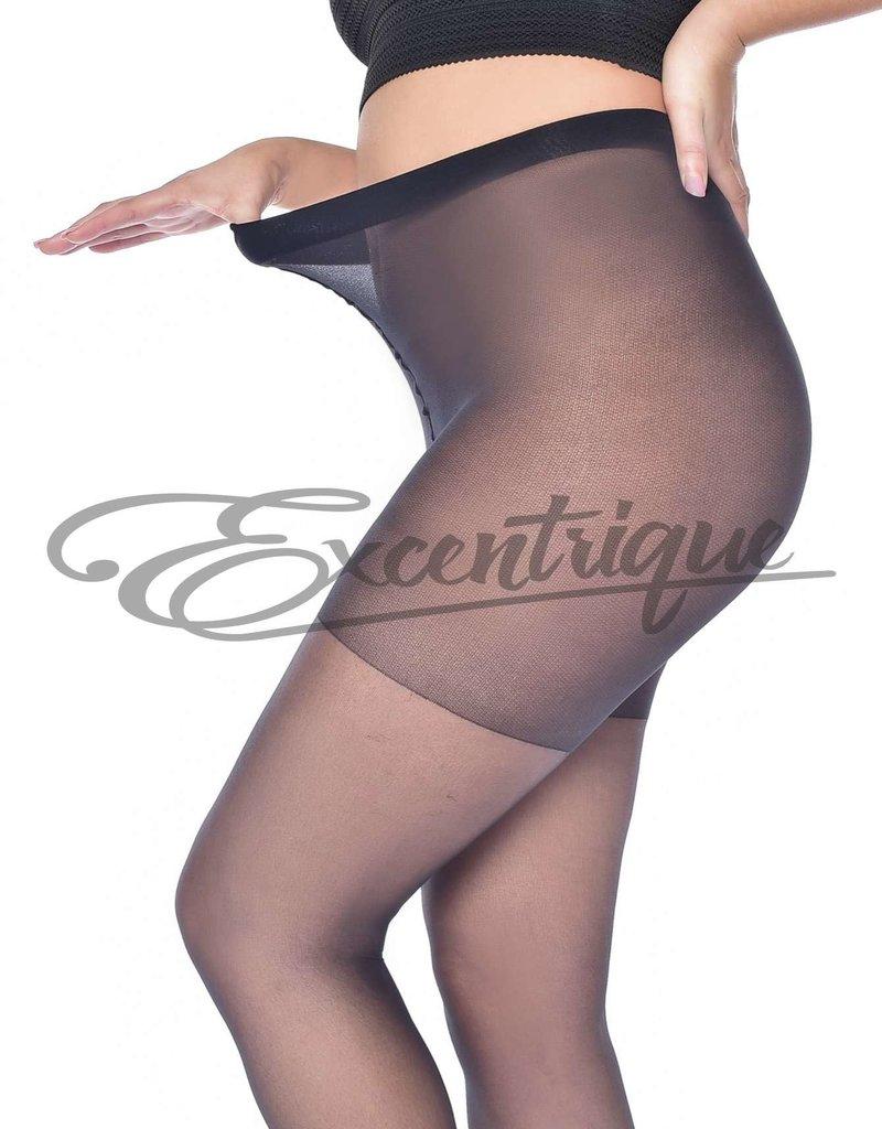 Pamela Mann Pamela Mann - Panty Sheer Curvy  - 30D - Black :