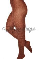 Pamela Mann Pamela Mann - Panty Leopard Pattern Curvy - 50D - Rust :