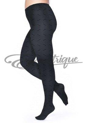 Pamela Mann Pamela Mann - Panty ZigZag Printed Curvy - 50D - Slate :