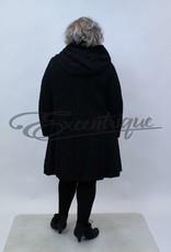 New Jersey - Jas met capuchon - Zwart Roos Krul Stans :