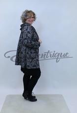 New Jersey - Vest met capuchon - Zwart Wit Patroon :