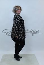 New Jersey - Vest +Size  - Zwart Tijger :
