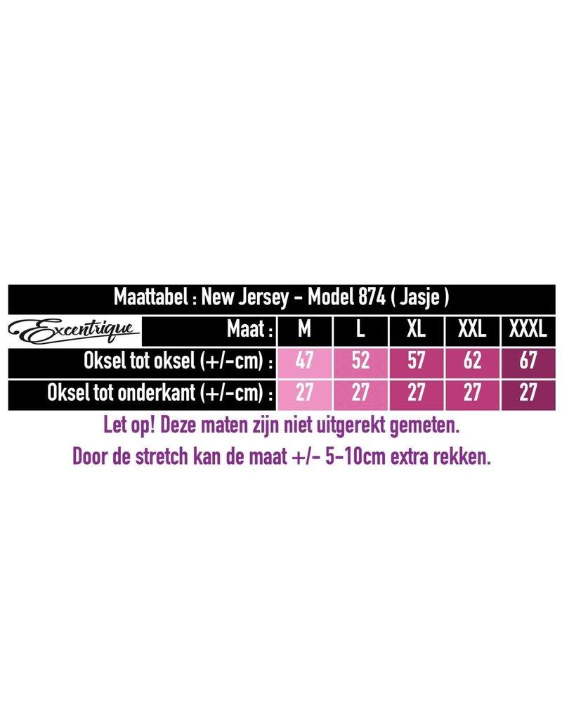 New Jersey - Twinset Jurk&Vest - Oker Zwart Grijs Boom :