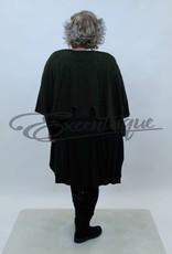 New Jersey - Pullover - Groen Zwart Motief  :