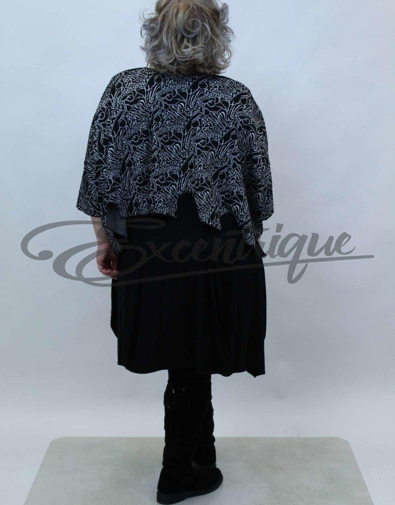 New Jersey - Pullover - Zwart Wit Grijs Tijger :
