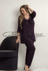Plaisir - Bamboo Pyjama - Blackberry :