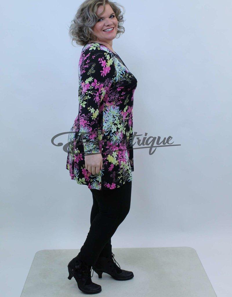 Magna - Tuniek - Pink Bont Patroon :