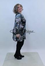Magna - Tuniek - Grijs Rose Bont Patroon :