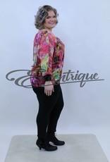Magna - Top - Groen Rose Patroon :