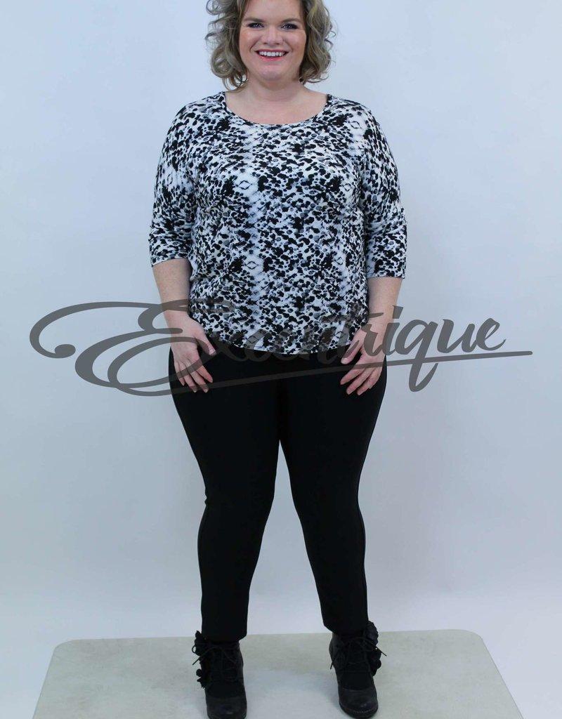 Magna - Shirt - Zwart Tijger :
