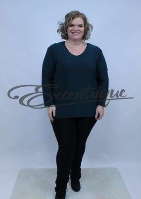 Magna - Shirt Lange Mouw B03 - FlesGroen :