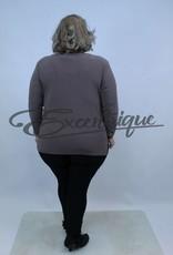 Magna - Shirt Lange Mouw B03 - Taupe :