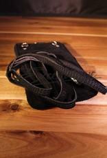 Lederen Schouder-/Telefoontasje - Zwart