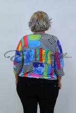 """NewJersey - Shirt """"Daisy"""" - Regenboog Abstract :"""