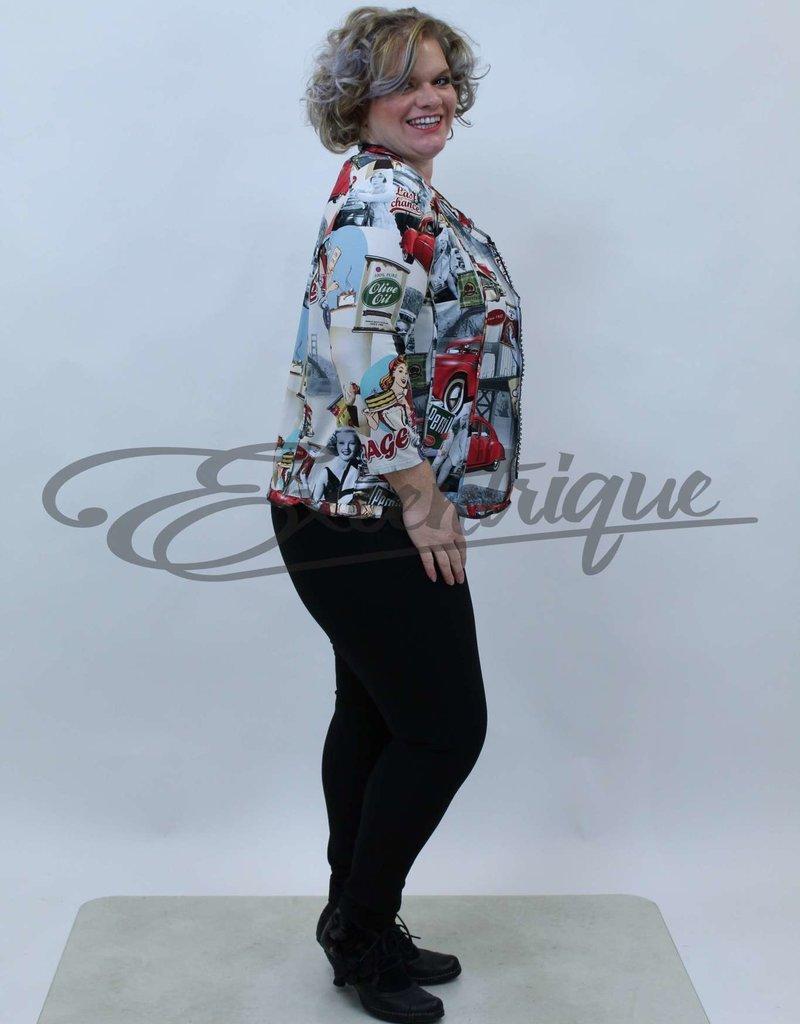 """NewJersey - TwinSet """"Bella"""" (Vest&Top) - Lady's Jaren '50 :"""