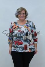 "NewJersey - Shirt ""Donna"" - lady's 50 Jaren :"
