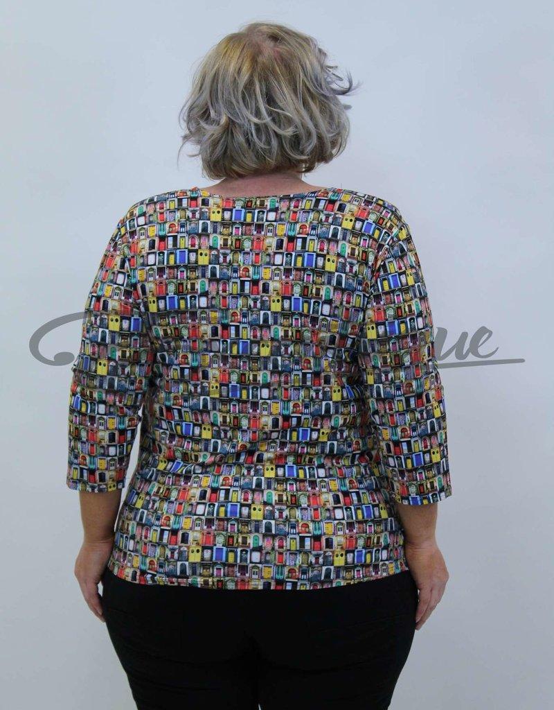 """NewJersey - Shirt """"Donna"""" - Bonte Deuren :"""