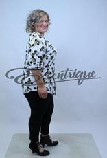 "NewJersey - Shirt ""Lucie"" - Wit ZwarteStip Luipaard :"