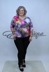 """NewJersey - Shirt """"Bette"""" - Rose Groen Kleurverloop :"""