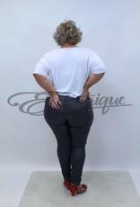 Karostar Karostar - Jeans - Leatherlook Grey :