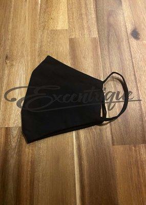 Mondkapje Fashionable - Uni Zwart :