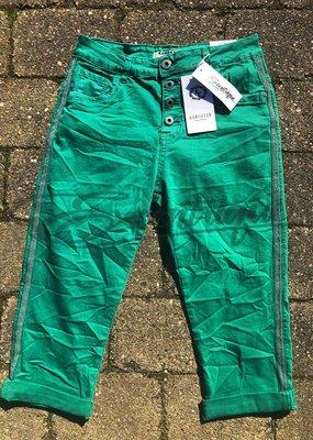 """Karostar Karostar - Jeans 3/4 """"K870"""" - Groen :"""