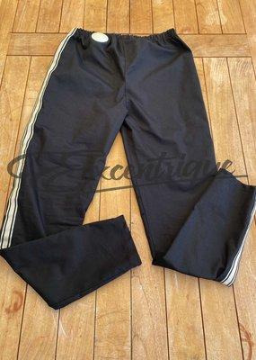 "Maella - Pantalon ""LE-1001"" - Zwart met StoneBies :"