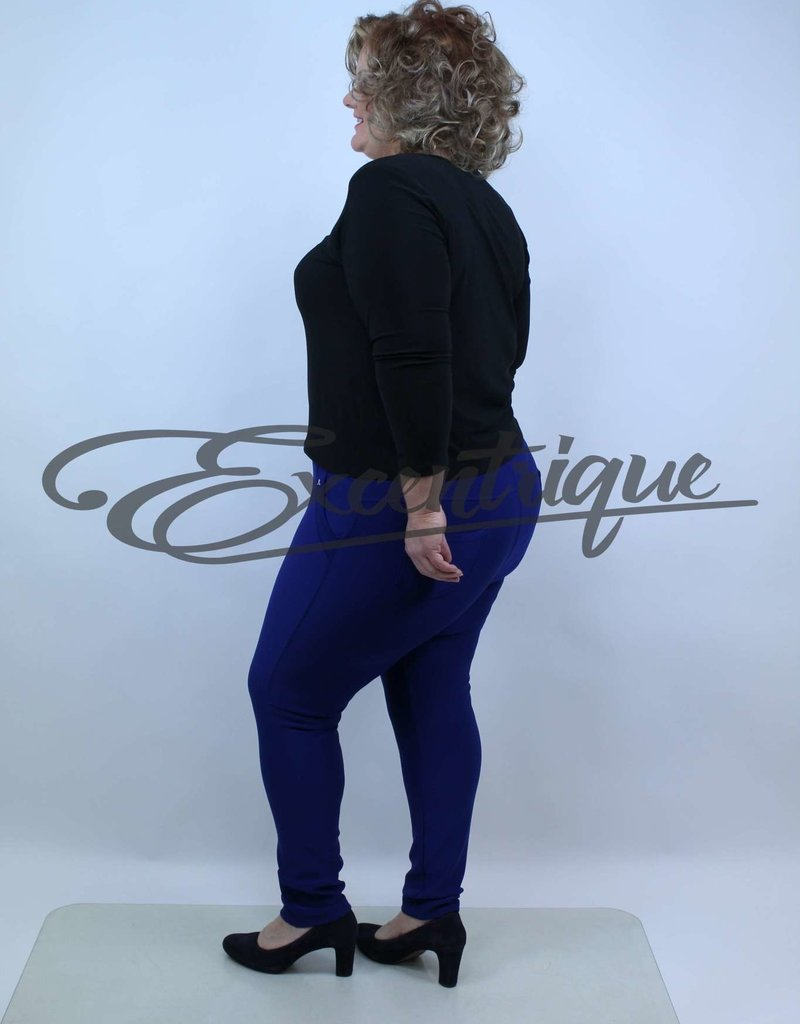 "Riva Fashion RivaFashion - Pantalon ""Luna"" - KobaltBlauw :"