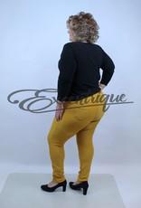 "Riva Fashion RivaFashion - Pantalon ""Luna"" - Oker :"