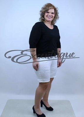 """ByExcentrique - Shorts / Pantalon Kort """"GS317"""" - Uni Wit :"""