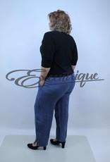 """MB Style MB_Style - Pantalon Linnen """"90911"""" - DenimBlue :"""
