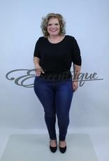 """Miss Queen MissQueen - Jeans """"Helena"""" - DenimBlue :"""