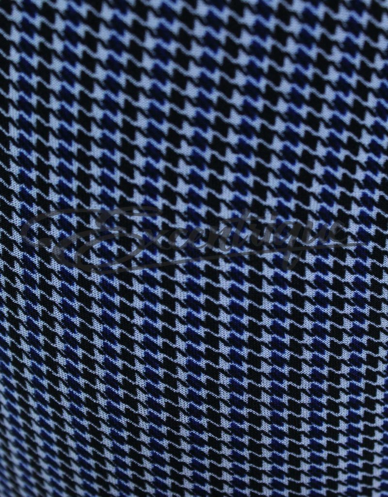 "Senma Fashion SenmaFashion - 3/4 Pantalon ""Katja"" - Wit Zwart Blauw :"