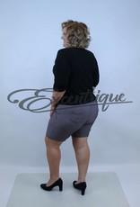 "Senma Fashion SenmaFashion - Short ""Meike"" - Wit Zwart Rood :"