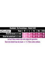 """ByExcentrique - Jurk """"2403"""" - Wit Bloemenprint :"""