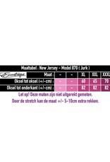 New Jersey - Twinset Mouwloze Jurk & Vest 870 - Rood Zwart :