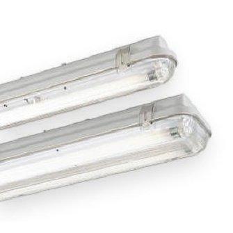 T8 18 watt dubbel waterdicht wit hoogfrequent armatuur