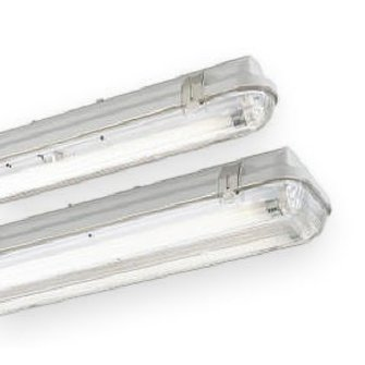 T8 18 watt enkel waterdicht wit hoogfrequent armatuur