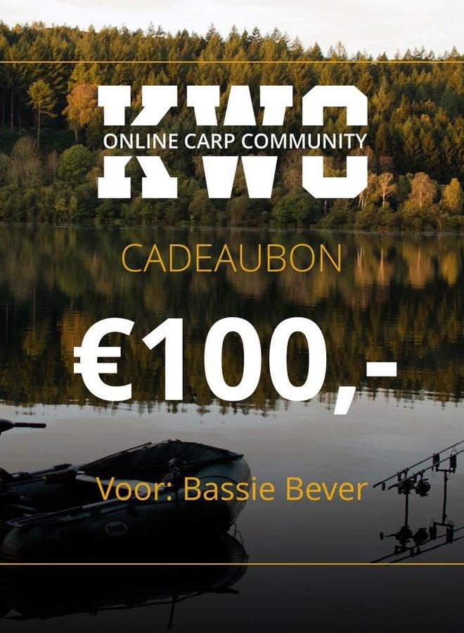KWO Cadeaubon - € 100,00