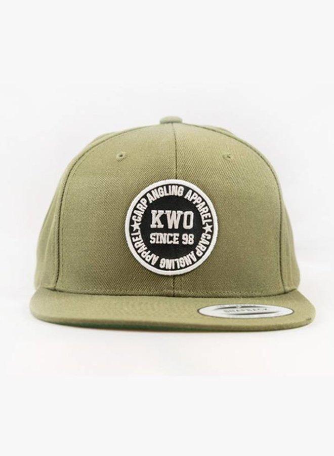 KWO Snapback - Army Green