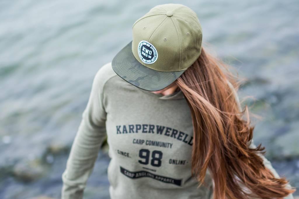 KWO Snapback - Jungle Green