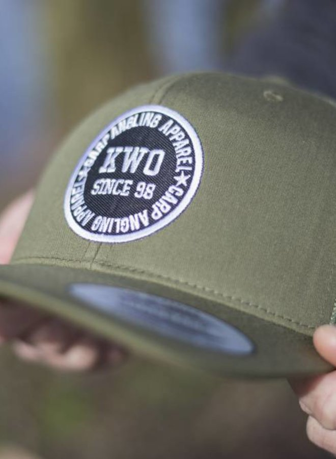 KWO Trucker Cap - Army Green