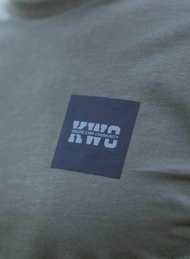 KWO Minimal T-Shirt - Army Green