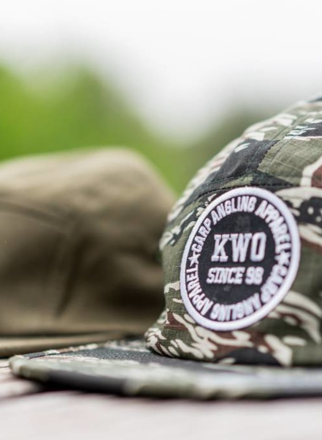 KWO 5-Panel Cap - Camou