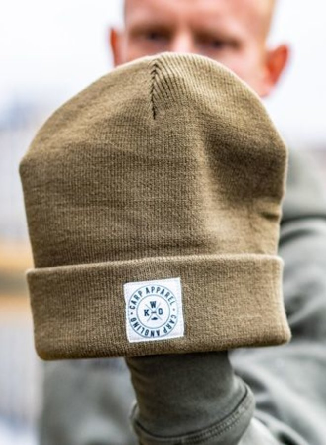 KWO Beanie Graphic - Army Green