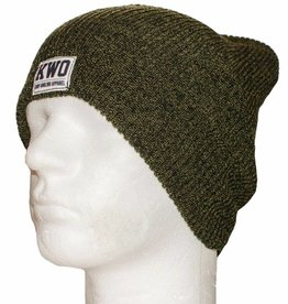 KWO Beanie Fijn - Heather Green
