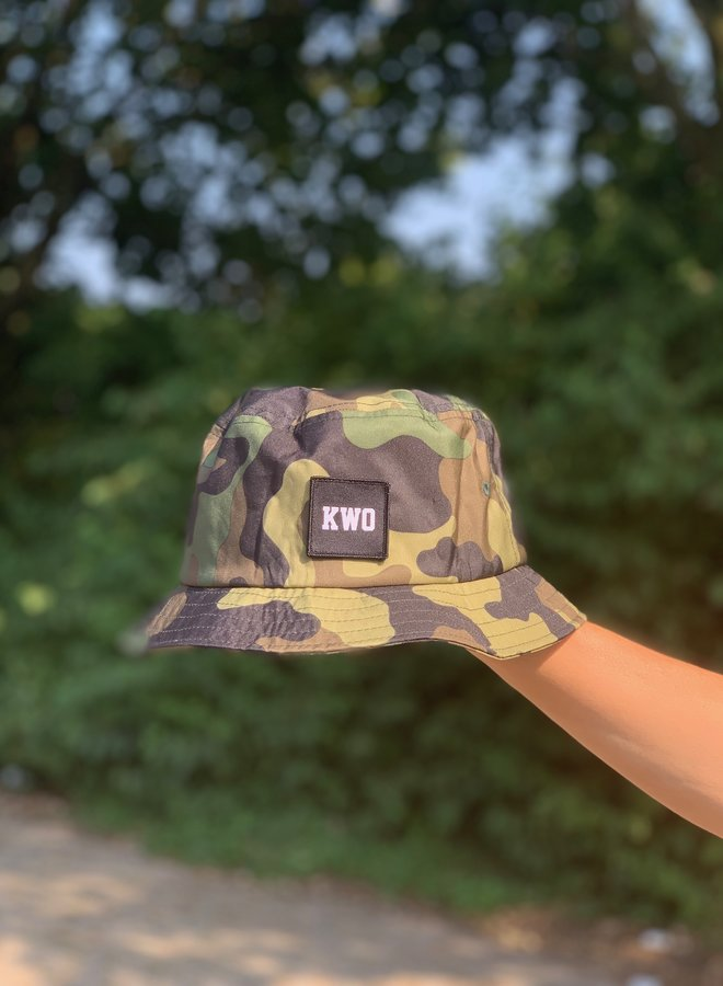 KWO Bucket Hat - Camou