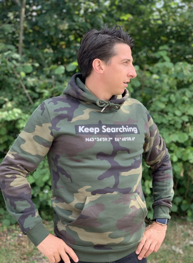 KWO Keep Searching GPS Tracksuit - Camou
