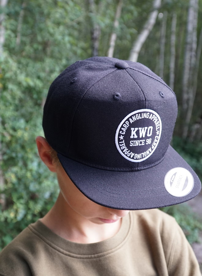 KWO Children Snapback - Black