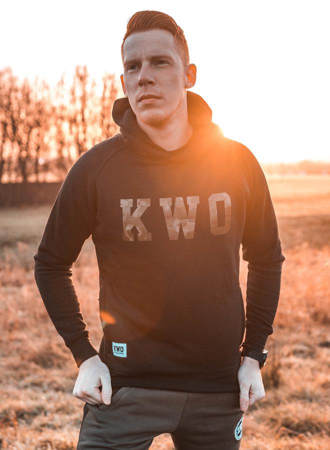 KWO Black Hoodie